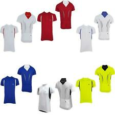 More Mile Mens Half Zip Short Sleeve Cycling Bike Cycle Jersey Shirt Top