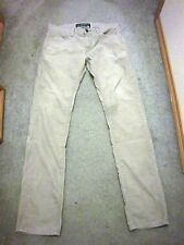 Levi's Jeans Corduroy Pants Skinny 511 Tan Color!  Waist 34 Length 34 Zip Fly