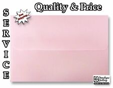 Baby Pastel Pink Envelopes / Announcement Invitation Shower Wedding A1 A2 A6 A7