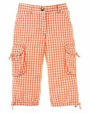 Gymboree Freshly Picked gingham cinched pants NWT
