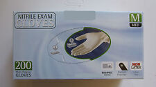 NEW! Rubber Gloves Food Safe Medical Disposable Nitrile Exam Powder/Latex Free
