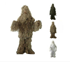 Ghillie Suit sniper Camo Camouflage Hunting yowie paintball woodland Training