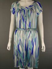 BRAND NEW WITH TAG LK BENNETT SILK SUMMER DRESS WITH BELT SIZES 6-14, RRP £195