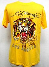 Ed Hardy Boys Tiger  Battle  tee shirt premium shirt top nwt logo tee