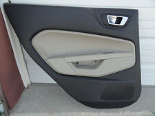 Ford Fiesta Driver Left Side Rear Door Panel Trim 14 15