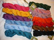 Mirasol SAWYA Worsted Yarn Pima Cotton, Alpaca & Silk Blend Many Colors-Gorgeous