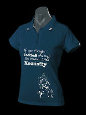 "***HEELS DOWN CLOTHING***LADIES ""XCOUNTRY"" POLO..YOU CHOOSE COLOUR!!"