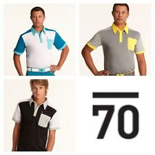 New TOUR SUB70 SubSeventy Mens  PolarDry® Performance Golf Polo Shirt T pocket