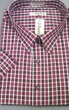 FOXFIRE Mens Sport Shirt Short-Sleeved Poly/Cotton Poplin 2 Pockets $65 MSRP NWT