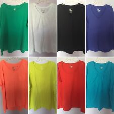 Plus Size 5X Shirt Top Tee JMS Just My Size Red Black White Purple Green