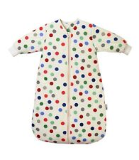 Travel Winter Sleeping Bag With Sleeves Bubble Dot Tog 3.5 Size 0-6 -12-36mths