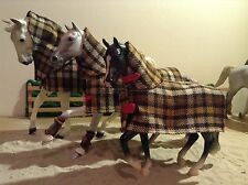 Breyer traditional scale stable rug with neck