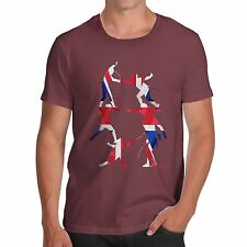 Twisted Envy Men's GB Fencing Silhouette T-Shirt