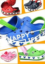 New crocs crocband mickey clothing shoes blue and pink color 6c7-12c13 j1-j3