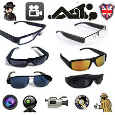2016 FULL HD HIDDEN SPY CAMERA DVR IN SUNGLASSES VIDEO RECORDER GLASSES UK NEW