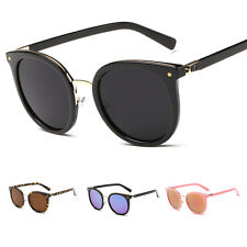 Retro Women's Designer Mirrored Lens UV400 Sunglasses Eyewear Eye Glasses New