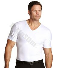 Insta Slim Slimming V Neck - White