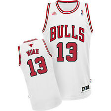 adidas Joakim Noah Chicago Bulls Mens Swingman Performance Jersey-White