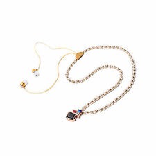 Necklace Stereo Bluetooth Headphone Headset Earpiece Sport For Mobile Cell phone
