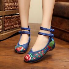 Women Ladies Pumps Flats Casual Ballerina Loafers Slippers Ankle Strap Shoes K