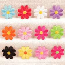 3X Sunflower Embroidered Iron On Patch Sew Motif DIY 1PC Applique Accessories BB