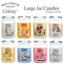 Wax Lyrical Colony Large Jar Scented Candles All Fragrances & FREE POSTAGE