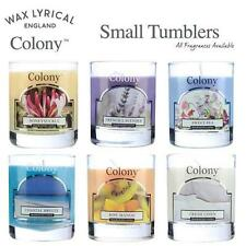 Wax Lyrical Colony Small Tumbler Scented Candles All Fragrances & FREE POSTAGE