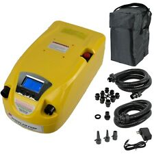 Pump Built-in Rechargeable Battery for Inflatable Boat, Kite, Paddle Board & SUP