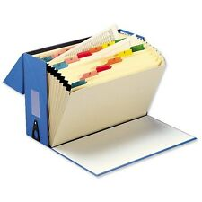 5 Star Expanding Box File Foolscap Blue A-Z Labelled from £9.99 Ex VAT