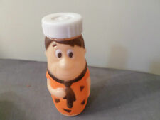 VINTAGE 1977 EVENFLO Hanna-Barbera Fred Flintstone Baby Bottle Plastic