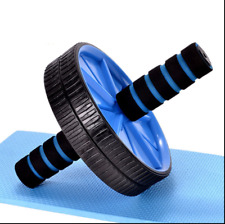 New Abs Wheel Roller Slim Gym Body Exercise Thigh Arms Ab Waist Fitness+Knee Pad