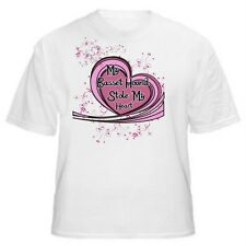 My Basset Hound Stole My Heart Dog Lover T-Shirt -Sizes Small through 5XL