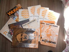 Wolves Home Programmes. 1967 to 2007.