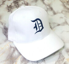 Custom Letter A-M Embroidery White Cotton Unisex Baseball Casual Cap Hat Gifts