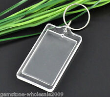 Wholesale Lots Key Chain &Key Rings W/Plastic Picture Frames 95x36mm