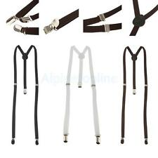 Adult Clip-on Braces Elastic Y-back Suspender Clip-On Belt Universal Suspenders