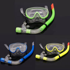 New Adult Swim Equipment Pro Diving Scuba Mask and Semi-Dry Snorkel Set 3 Colors