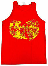 WU TANG CLAN Tank Top Rap Hip Hop Gza Rza ODB T-shirt Adult  Red New