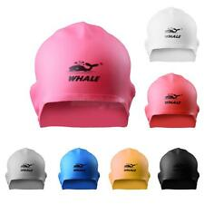 Waterproof Stretch Silicone Swimming Swim Ear Cover Cap Hat Water Sports Hat