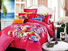 3D Bedding Quilt Doona Duvet Cover Bed Sheet Pillowcase Set - Flower Bouquet New