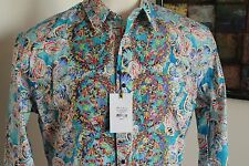 Robert Graham Limited Edition Grand Master Sport Shirt NWT $498 SIZE L, 2XL, 3XL