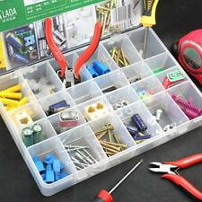 Earring Storage Case Jewelry Ring Display Organizer Adjustable Box Tray Holder