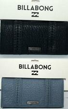 BILLABONG WALLET PURSE CLUTCH LADIES NEW SIDEWALK BLACK BLUE TRI LOGO Surf Logo