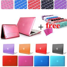 Glossy Hard Shell Case+Keyboard Cover for MacBook Air 11 Pro 13 Retina 13/15 12