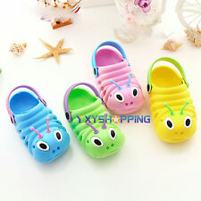 New Boys Girls Kids Baby Casual Soft Clogs Summer Beach Sandals Flip Flops Shoes