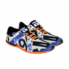 Mizuno Wave Universe 5 Mens White Black Athletic Lace Up Running Shoes