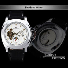Hot Men's Multifunctional Tourbillon Automatic Mechanical Watch Moon Phase