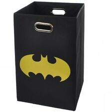 Modern Littles Batman Shield Folding Laundry Basket