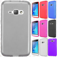 For Verizon Samsung Galaxy J1 Frosted TPU CANDY Gel Flexi Skin Case Phone Cover
