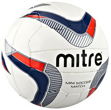 Mitre Outdoor Football Sports Soft Feel Pu 18 Panel Mini-Soccer Match Ball